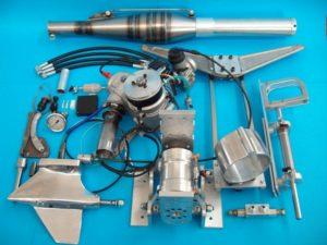 GRM CE-125cc Complete Racing Engine